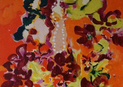 2012 - Tänzerinnen in der Sonne - 120 x 80 cm