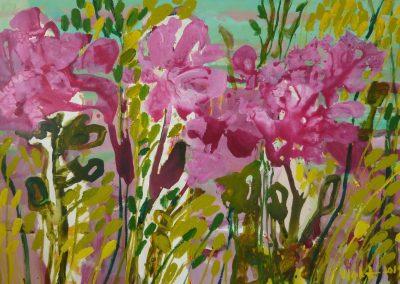 2013 - Blumenwiese - 100 x 160 cm