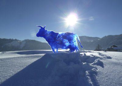 2014 - Bibi die Kuh - Acryl auf Acryl - 200 x 100 cm