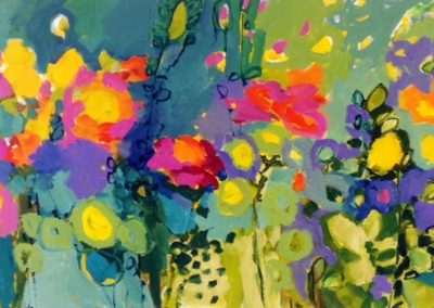2014 - Schweizer Blumenwiese - 80 x 170 cm