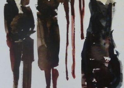 2015 - Auf der Promenade - 190 x 80 cm