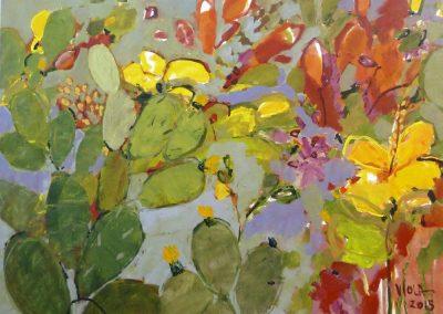 2015 - Flora der Kanaren - 160 x 200 cm