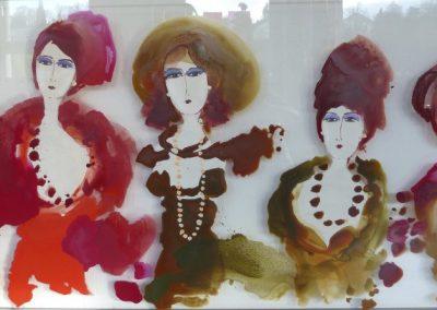 2015 - Miss Doris und ihre Girls - 90 x 190 cm