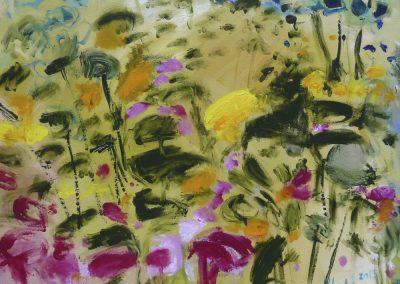 2015 - Wildblumenwiese - 100 x 110 cm