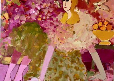 2017 - Beatrice - 100 x 100 cm