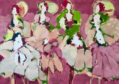 2017 - Die jungen Tänzerinnen - 80 x 120 cm
