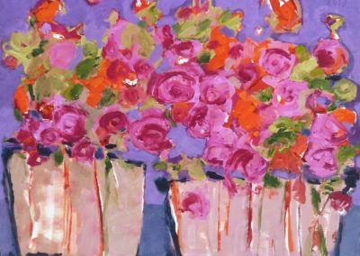 2017 - Las Flores - 120 x 150 cm