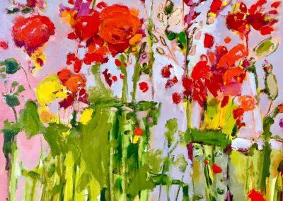 2017 - Wiesenblumen - 150 x 120 cm