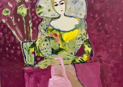 2018 - Madame - 100 x 90 cm