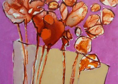 Atelier an der Enz - Blumenvase II - 130 x 90 cm
