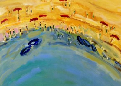 Atelier an der Enz - Costa Brava I - 100 x 100 cm
