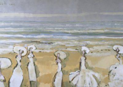 Atelier an der Enz - Damen am Strand - 100 x 160 cm