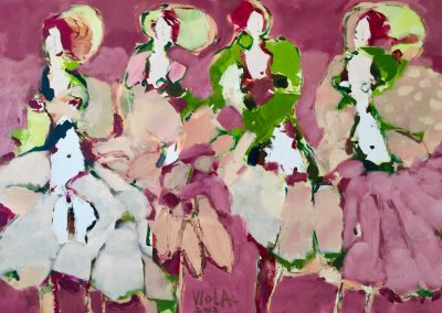 Atelier an der Enz - Die jungen Tänzerinnen - 80 x 120 cm