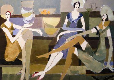 Atelier an der Enz - Die schönen Damen lassen bitten - 150 x 200 cm