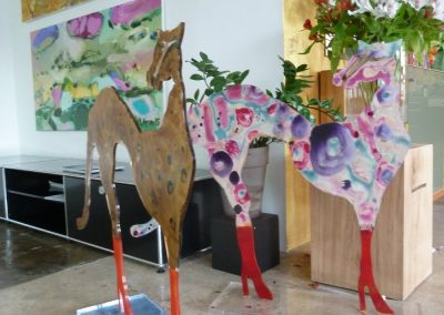 Atelier an der Enz - Geparden Acryl auf Acryl - ca. 90 x 100 cm