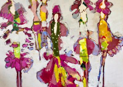 Atelier an der Enz - Sommer in der Stadt - 200 x 200 cm