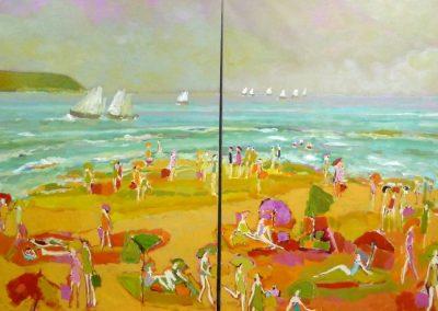 Atelier an der Enz - Strand - 200 x 230 cm