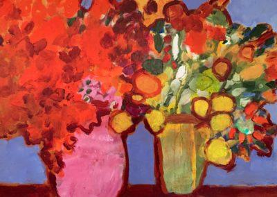 2020 - Blumensträuße - 100 x 80 cm