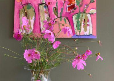 2020 - Blumen - 80 x 60 cm
