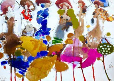 2021 - Barcelona - Acryl auf Leinwand - 150 x 110 cm